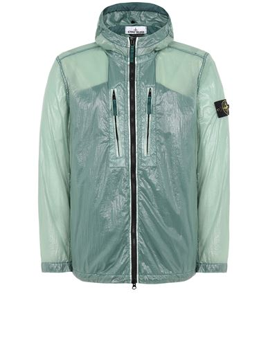STONE ISLAND 43034 LUCIDO-TC_PACKABLE  PACKABLE JACKET Man Dark Teal Green EUR 475