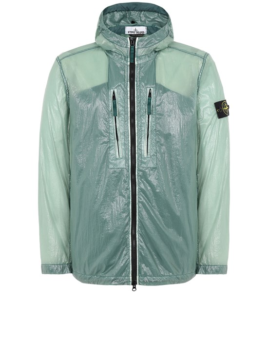 STONE ISLAND 43034 LUCIDO-TC_PACKABLE  PACKABLE JACKET Man Dark Teal Green
