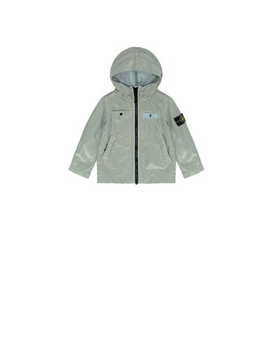 STONE ISLAND BABY 40637 NYLON METAL COLOURED WEFT/TYVEK® Jacket Man Dust Gray EUR 286