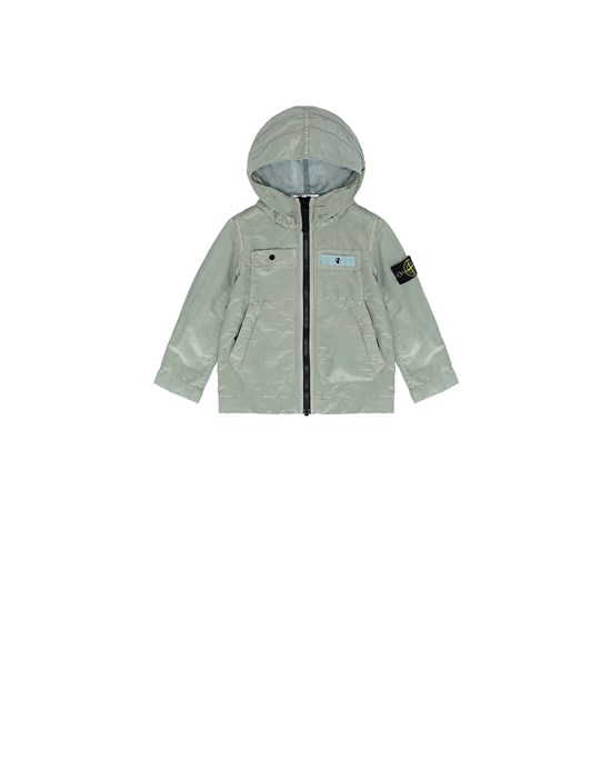 STONE ISLAND BABY 40637 NYLON METAL COLOURED WEFT/TYVEK® Jacket Man Dust Grey