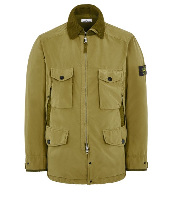 Mid-length jacket Man 41031 DAVID LIGHT-TC WITH MICROPILE Front STONE ISLAND