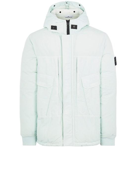 STONE ISLAND 40633 NASLAN DOWN-TC Mid-length jacket Man Light Green
