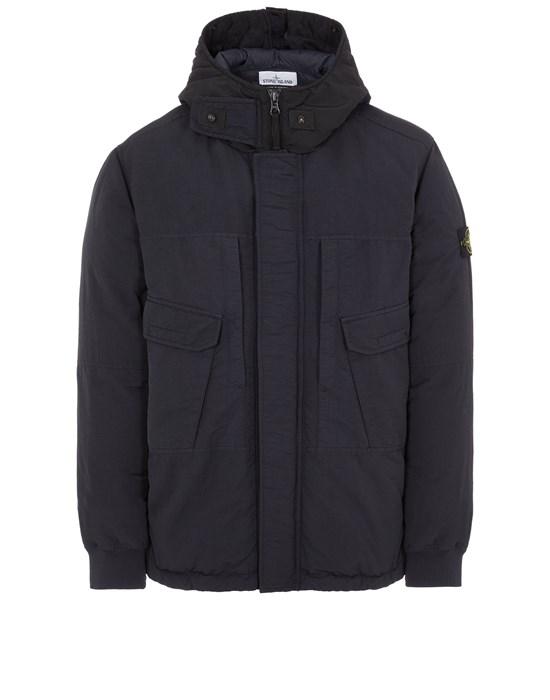 STONE ISLAND 40633 NASLAN DOWN-TC Mid-length jacket Man Black