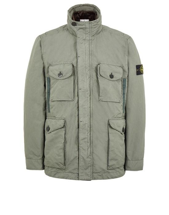 STONE ISLAND 41849 DAVID-TC WITH DETACHABLE LINING Mid-length jacket Man Sage Green