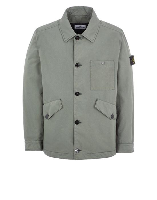 STONE ISLAND 41749 DAVID-TC WITH PRIMALOFT® INSULATION TECHNOLOGY Mid-length jacket Man Sage Green