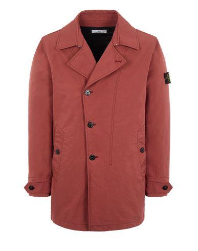 STONE ISLAND 42149 DAVID-TC WITH PRIMALOFT® INSULATION TECHNOLOGY Mid-length jacket Man Brick red EUR 919