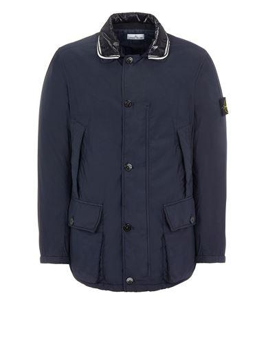 STONE ISLAND 43732 NASLAN LIGHT WATRO WITH PRIMALOFT®-TC Mid-length jacket Man Ink Blue USD 1020