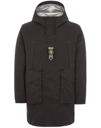STONE ISLAND 711G2 RIPSTOP GORE-TEX WITH PACLITE® PRODUCT TECHNOLOGY / NYLON METAL DOWN-TC_PACKABLE LONG JACKET Man Black EUR 1469