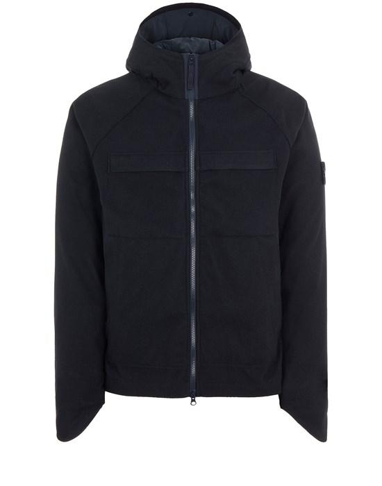 STONE ISLAND 441F1 SW 3L_GHOST PIECE Mid-length jacket Man Blue