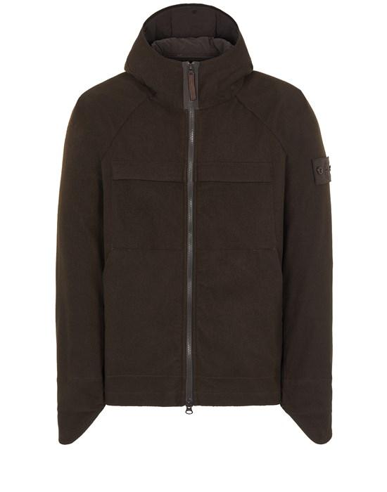 STONE ISLAND 441F1 SW 3L_GHOST PIECE Mid-length jacket Man Dark Brown