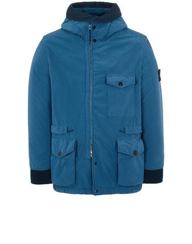 STONE ISLAND 41131 DAVID LIGHT-TC WITH MICROPILE Mid-length jacket Man Teal USD 1231