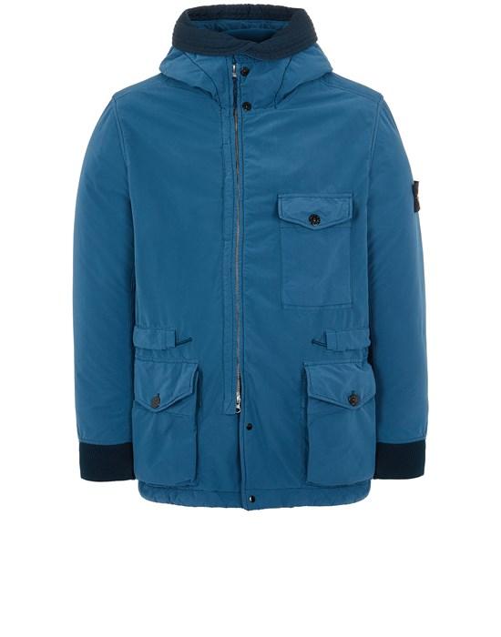 Mid-length jacket Man 41131 DAVID LIGHT-TC WITH MICROPILE Front STONE ISLAND