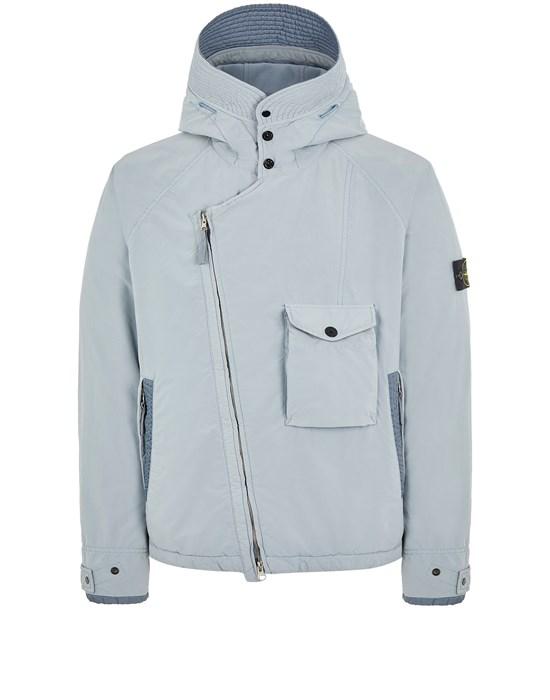 Mid-length jacket Man 41231 DAVID LIGHT-TC WITH MICROPILE Front STONE ISLAND