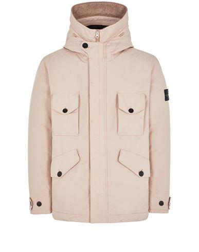 STONE ISLAND 41649 DAVID DOWN-TC Mid-length jacket Man Pastel pink EUR 1199