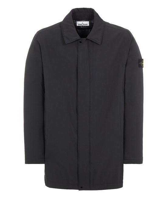 Mid-length jacket Man 41327 SOFT SHELL-R_e.dye® TECHNOLOGY WITH PRIMALOFT® INSULATION TECHNOLOGY Front STONE ISLAND