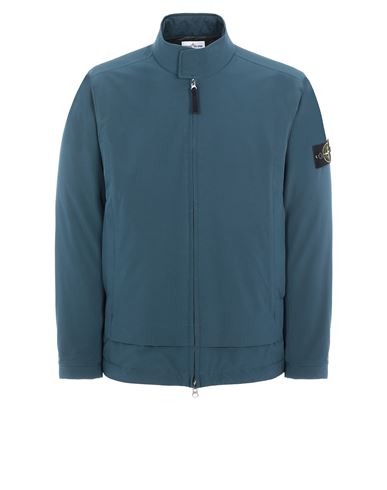 STONE ISLAND 41527 SOFT SHELL-R_e.dye® TECHNOLOGY WITH PRIMALOFT® INSULATION TECHNOLOGY Mid-length jacket Man Teal EUR 629
