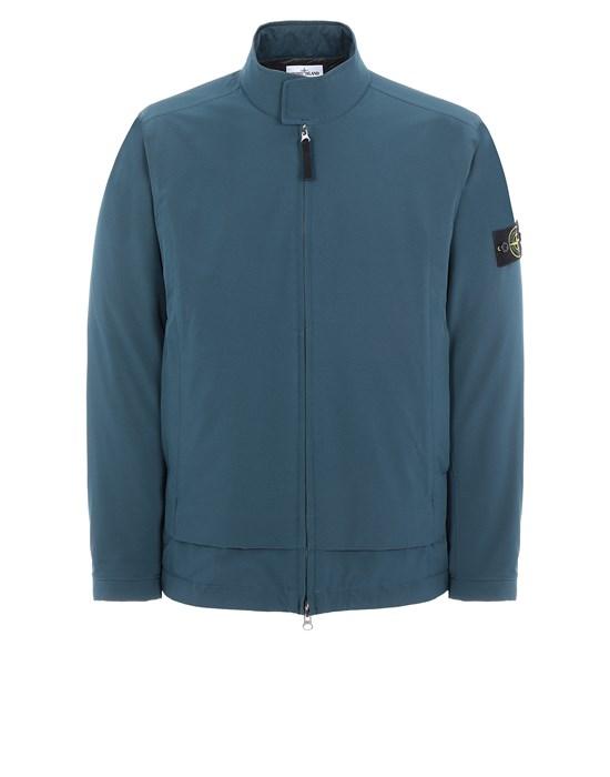Mid-length jacket Man 41527 SOFT SHELL-R_e.dye® TECHNOLOGY WITH PRIMALOFT® INSULATION TECHNOLOGY Front STONE ISLAND