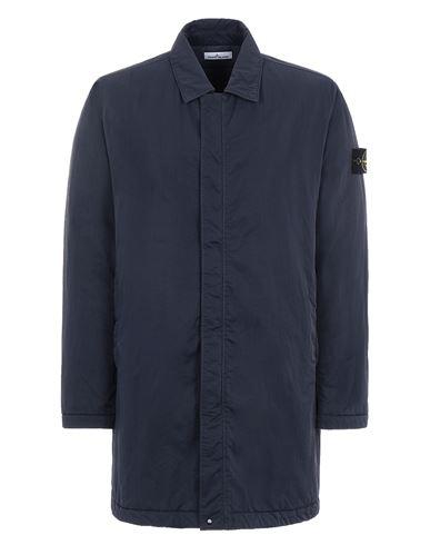 STONE ISLAND 44346 HYPER DENSE NYLON TWILL WITH PRIMALOFT®-TC Mid-length jacket Man Ink Blue EUR 879