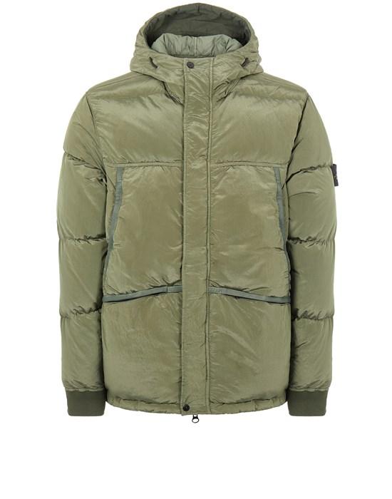 STONE ISLAND 44508 NYLON METAL DOWN-TC Mid-length jacket Man Sage Green