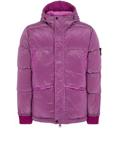 STONE ISLAND 44508 NYLON METAL DOWN-TC Mid-length jacket Man Magenta EUR 935