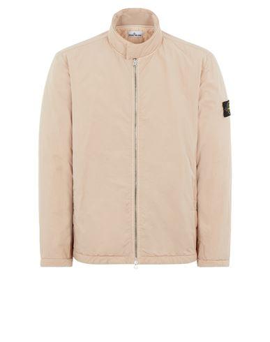 STONE ISLAND 42346 HYPER DENSE NYLON TWILL WITH PRIMALOFT®-TC Mid-length jacket Man Pastel pink EUR 749