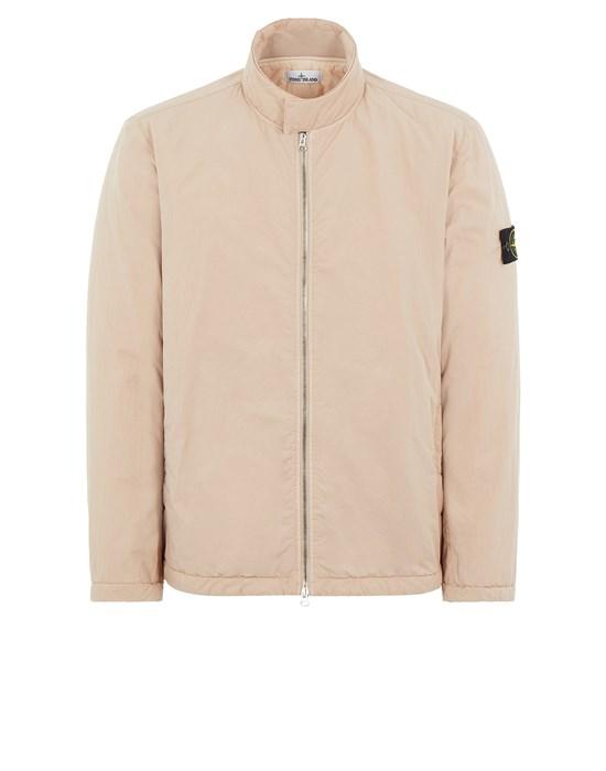 Mid-length jacket Man 42346 HYPER DENSE NYLON TWILL WITH PRIMALOFT®-TC Front STONE ISLAND