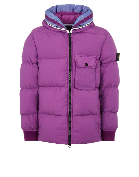 STONE ISLAND 43432 NASLAN LIGHT WATRO DOWN-TC Mid-length jacket Man Magenta