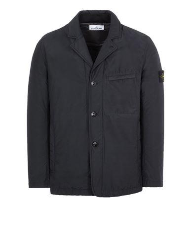 STONE ISLAND A0125 O-COTTON/R-NYLON TELA WITH PRIMALOFT® INSULATION TECHNOLOGY Blazer Man Black EUR 535