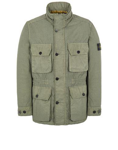STONE ISLAND 43032 NASLAN LIGHT WATRO WITH PRIMALOFT®-TC Mid-length jacket Man Sage Green USD 1020