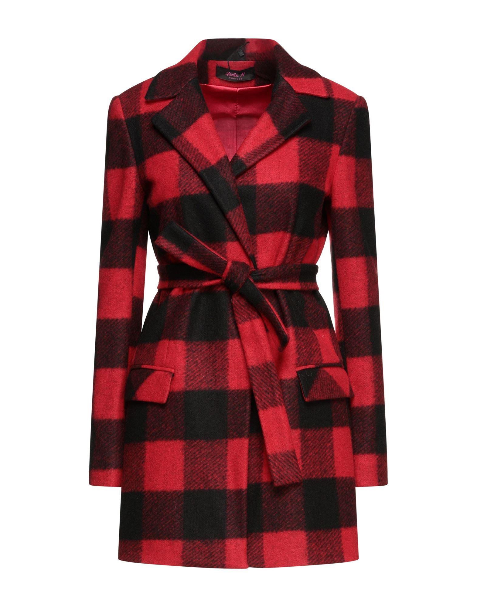 Giulia N Coats In Red