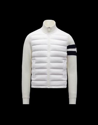 铺棉针织开衫 白色 新品上线 男士