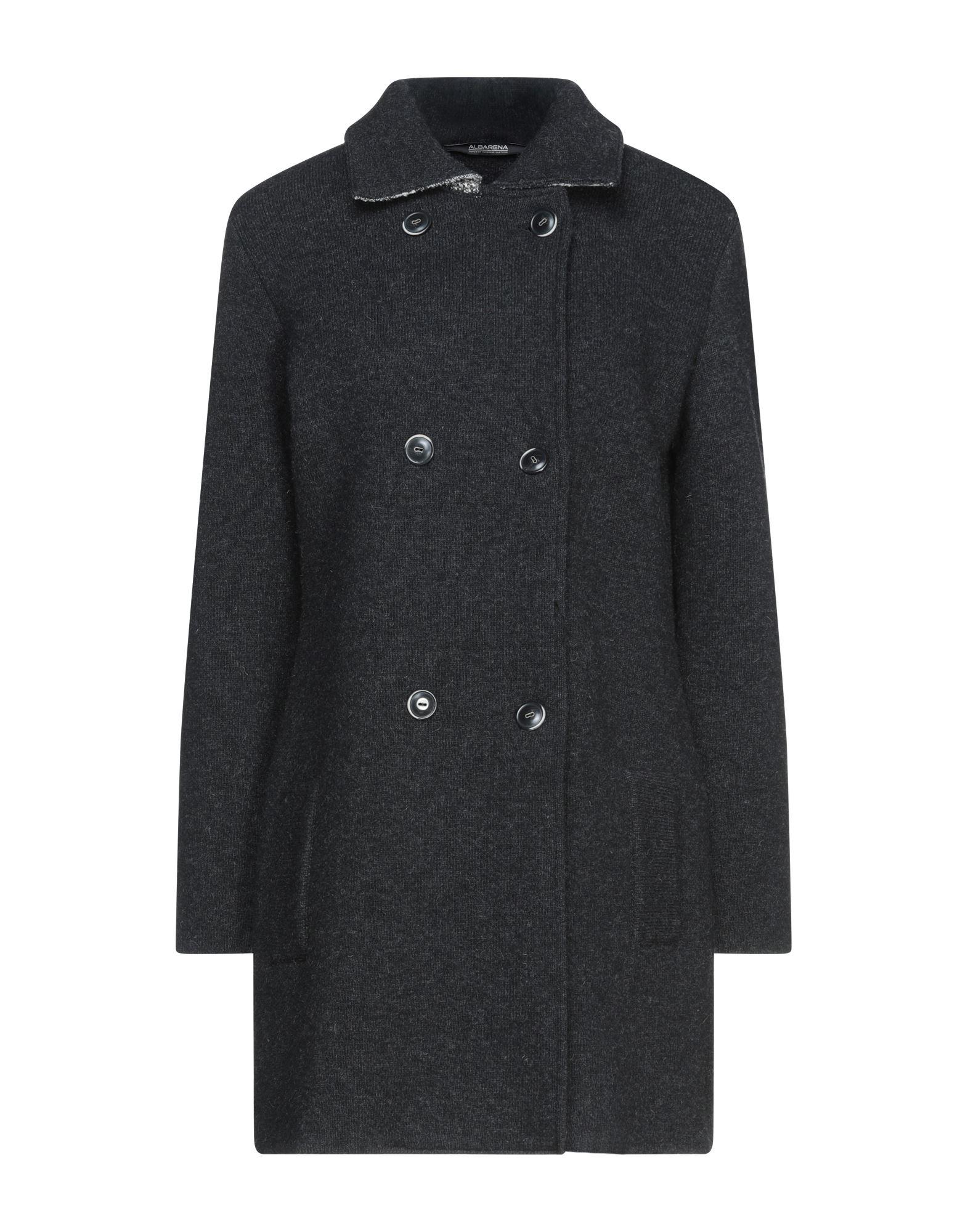 Albarena Coats In Steel Grey