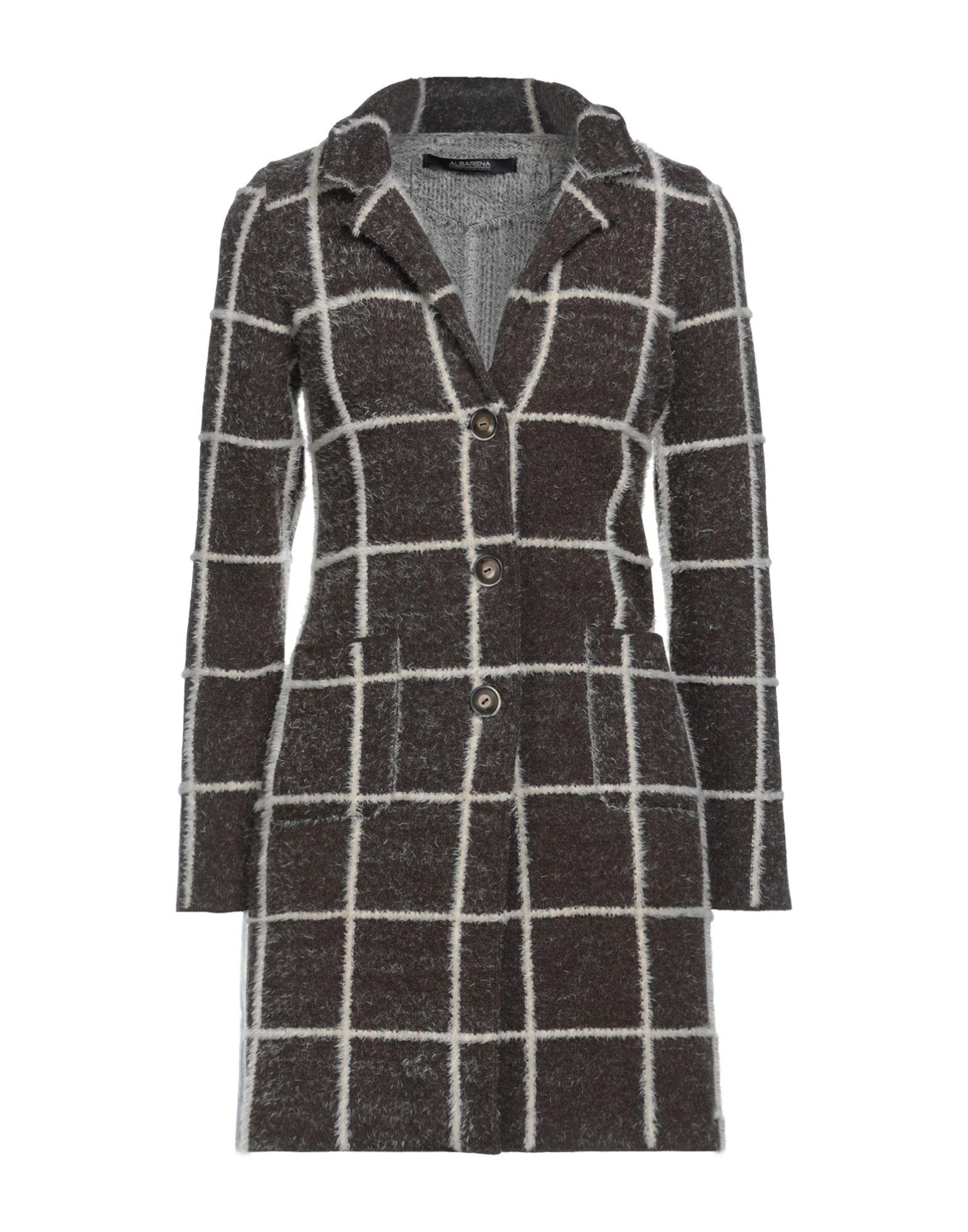 Albarena Coats In Brown