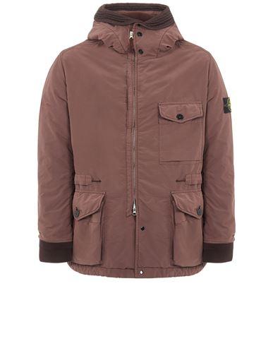 STONE ISLAND 41131 DAVID LIGHT-TC WITH MICROPILE Mid-length jacket Man MAHOGANY BROWN EUR 879