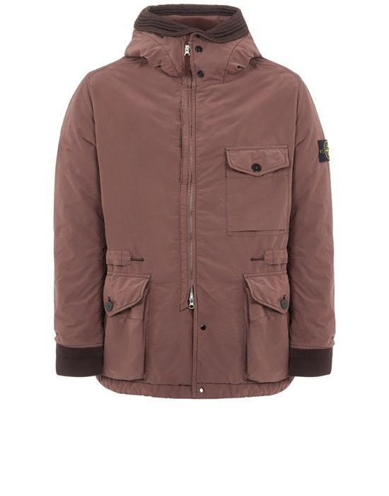 STONE ISLAND 41131 DAVID LIGHT-TC WITH MICROPILE Mid-length jacket Man MAHOGANY BROWN