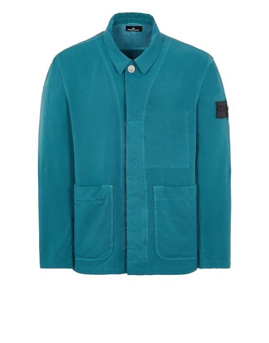 STONE ISLAND SHADOW PROJECT 40604 BI-STRETCH R-NYLON TWILL, GARMENT DYED_CHAPTER 1 Jacket Man Emerald Green