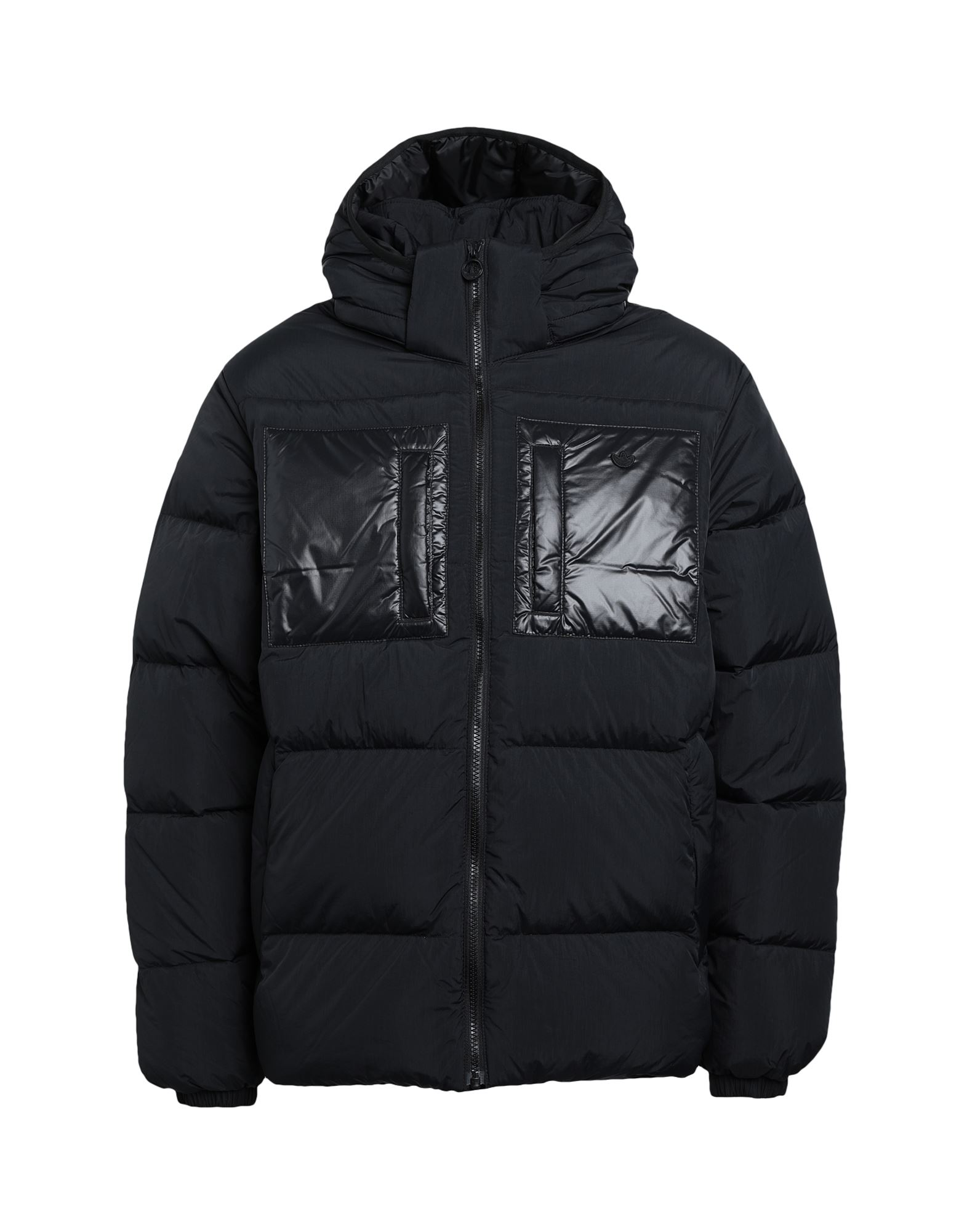 《セール開催中》ADIDAS ORIGINALS メンズ ダウンジャケット ブラック S ナイロン 100% DOWN REGEN PUFF
