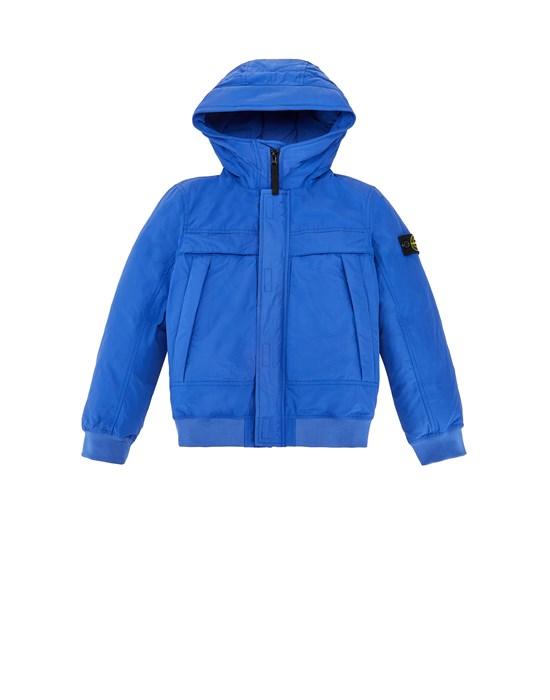 STONE ISLAND JUNIOR 41032 MICRO REPS DOWN Jacket Man Ultramarine Blue