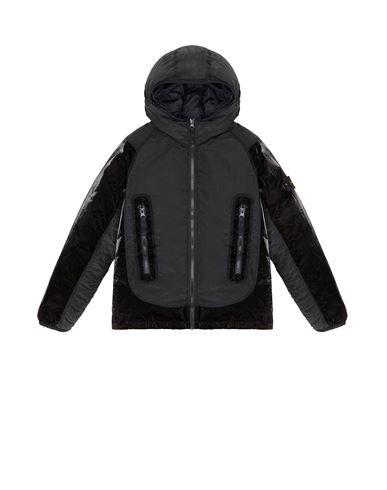 STONE ISLAND JUNIOR Jacket Man 40936 NYLON METAL GLOSS COATING/RESIN TREATED NYLON f