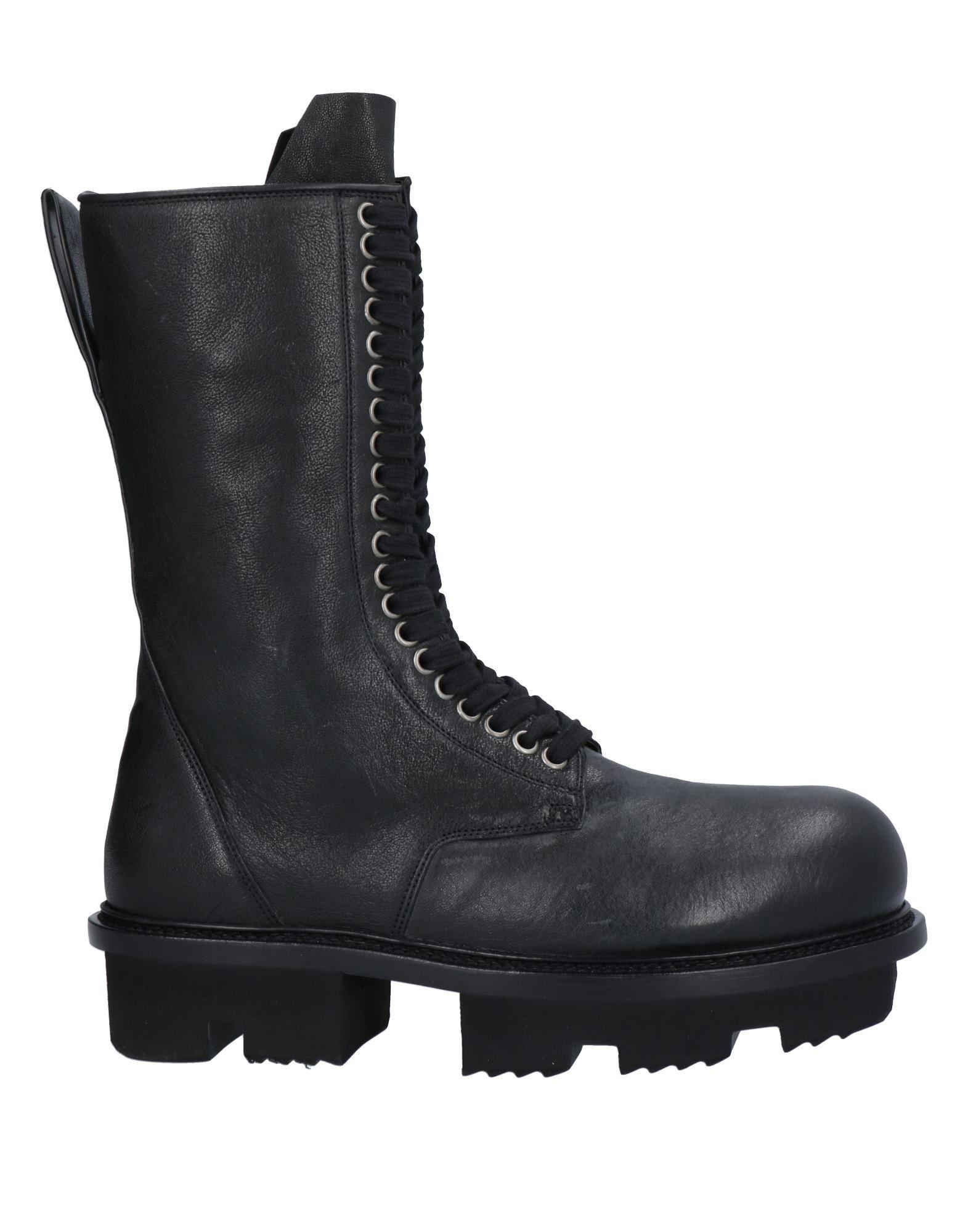 《セール開催中》RICK OWENS メンズ ブーツ ブラック 39 革