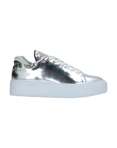 Низкие кеды и кроссовки CESARE PACIOTTI 4US. Цвет: серый