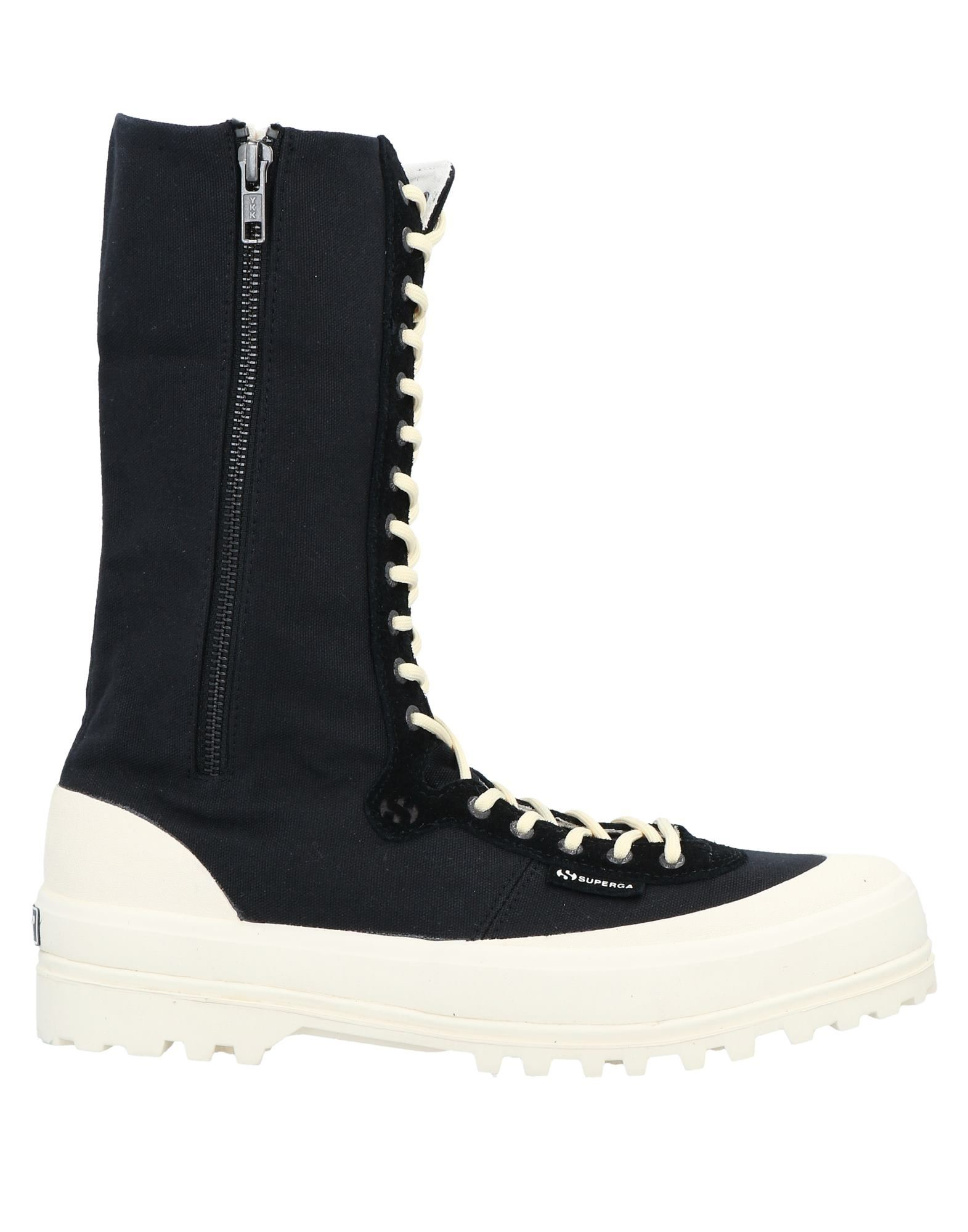 PAURA x SUPERGA  メンズ ブーツ ブラック - ホワイト