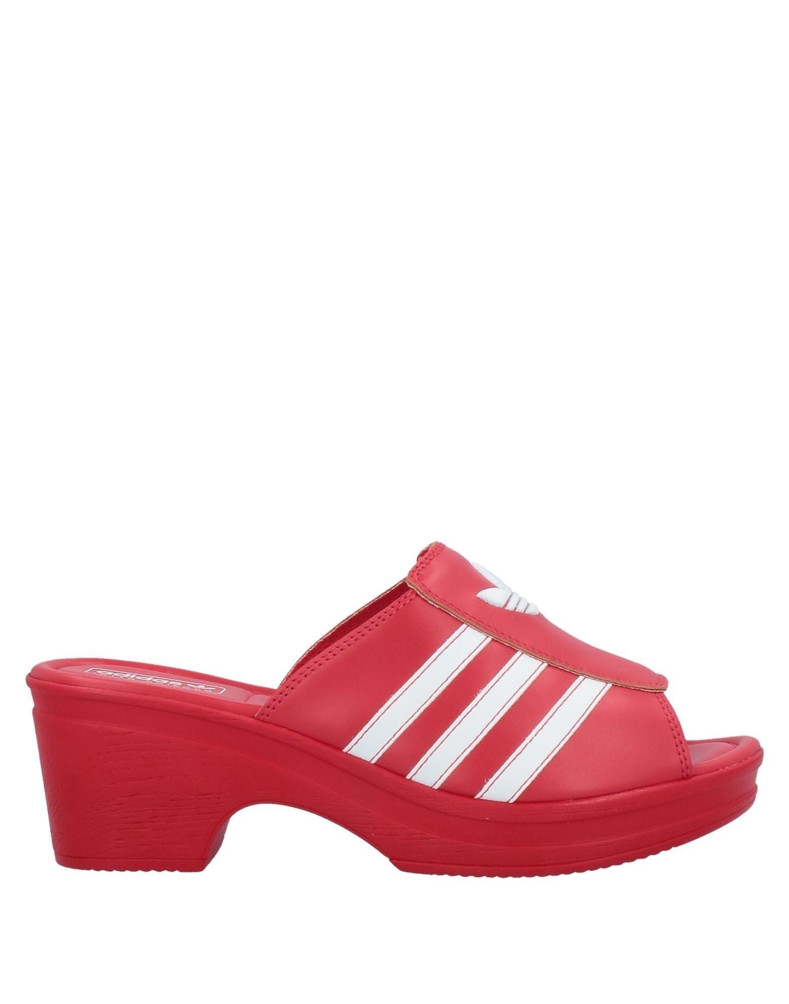 Adidas Originals X Lotta Volkova Sandals In Red
