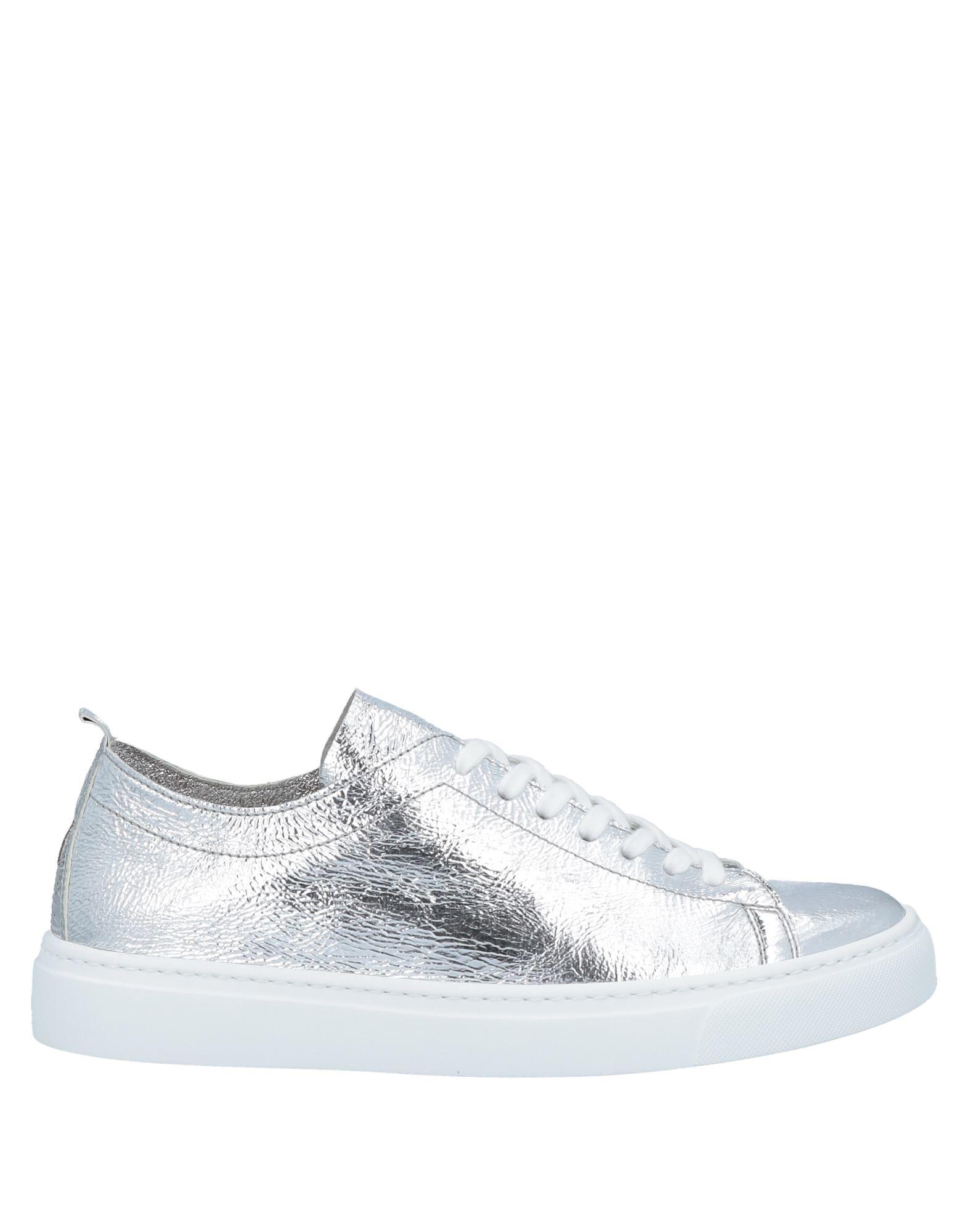 Henderson Baracco Sneakers In Silver