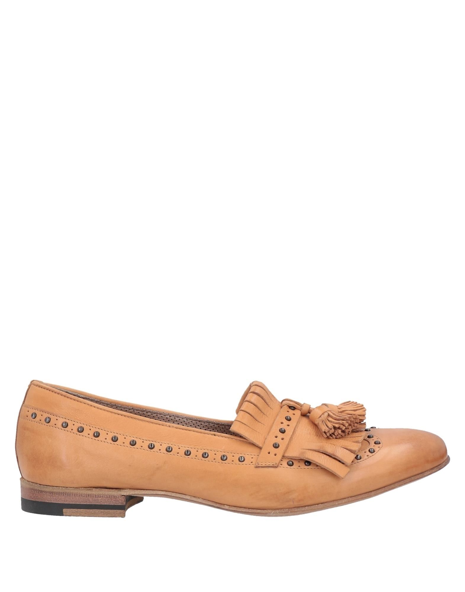 Henderson Baracco Loafers In Camel