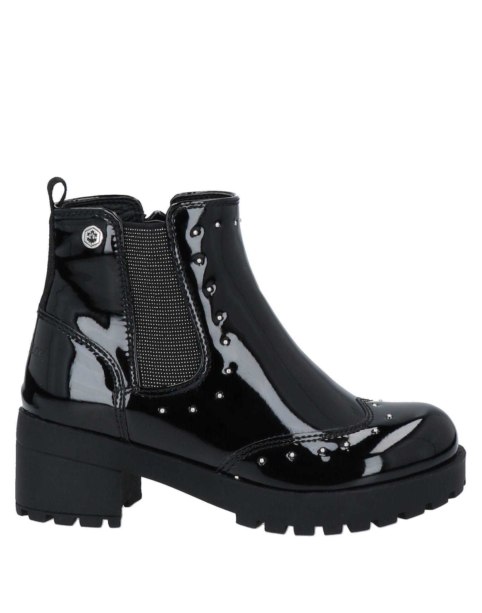 LUMBERJACK ガールズ ショートブーツ ブラック キッズ