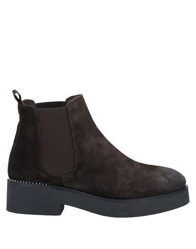 Полусапоги и высокие ботинки STELE. Цвет: темно-коричневый