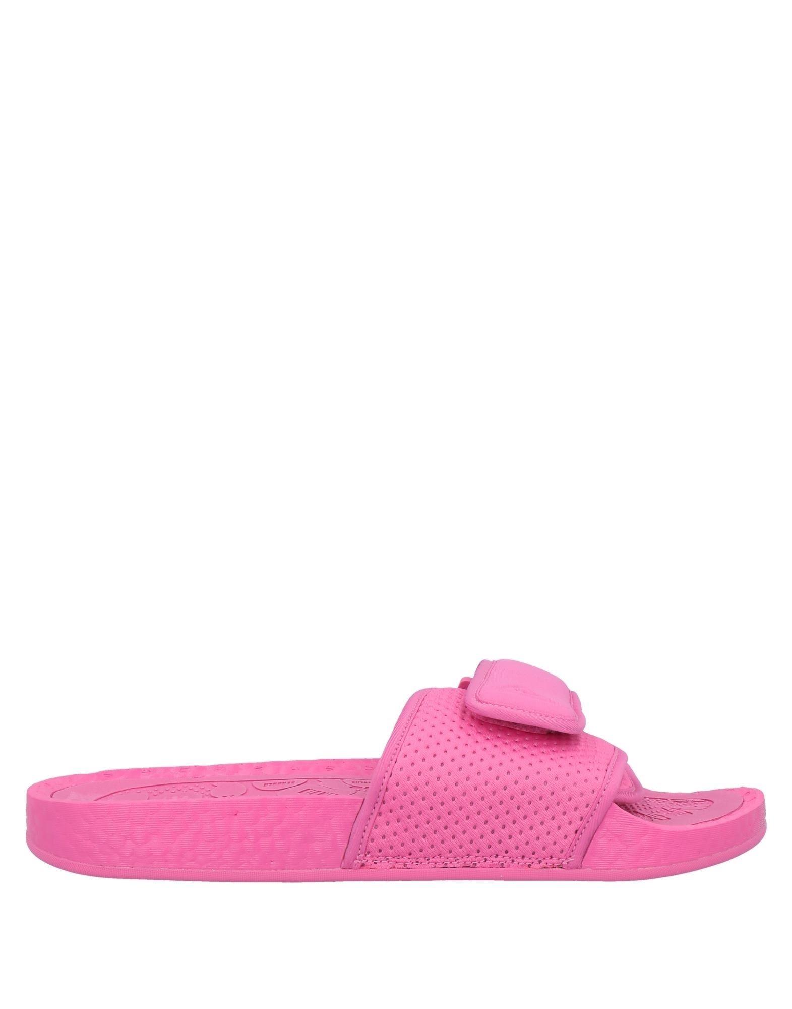《セール開催中》ADIDAS ORIGINALS by PHARRELL WILLIAMS メンズ サンダル ピンク 5 紡績繊維