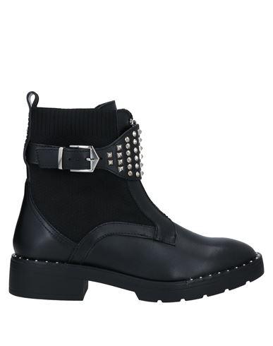 Полусапоги и высокие ботинки 67 SIXTYSEVEN. Цвет: черный