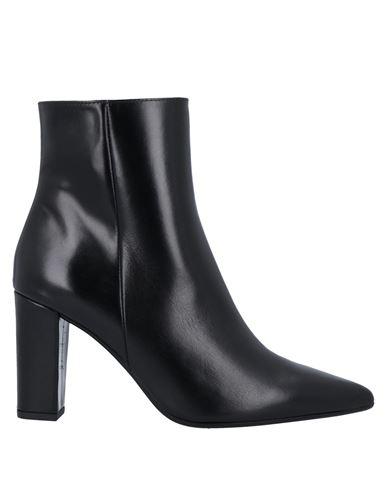 Полусапоги и высокие ботинки PAOLA FERRI. Цвет: черный